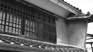 長野県上田市 – 北国街道『柳町』の町並み
